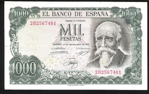 Billete echegaray