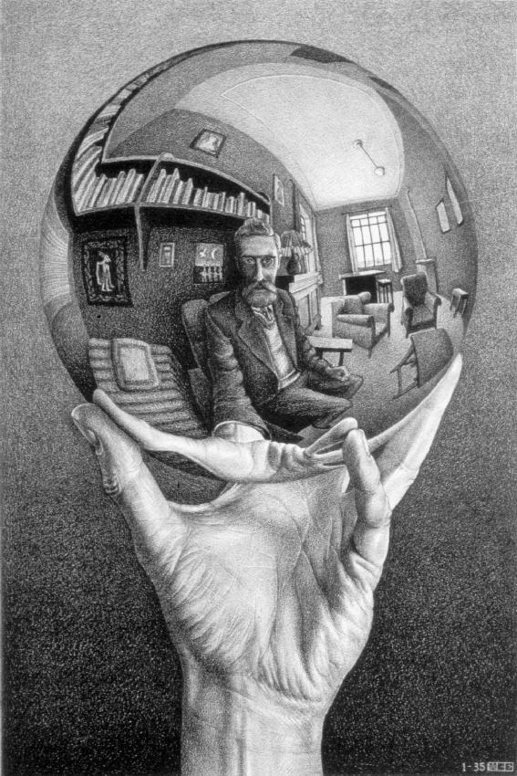 Escher bola