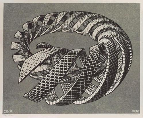 Escher espiral