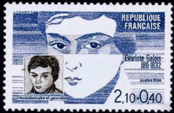 Evariste Galois Francia 1984