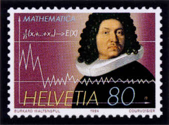 Jakob Bernoulli Suiza 1994