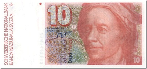 billete euler