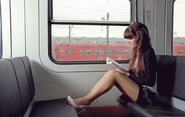 chica tren